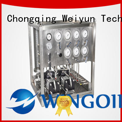 Wingoil Safety chemical system For Gas Industry