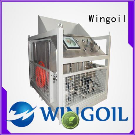 Wingoil popular duct pressure testing equipment For Oil Industry