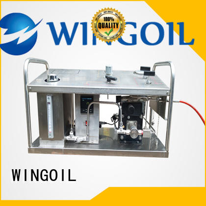 Wingoil diesel hydrostatic test pump factory for onshore