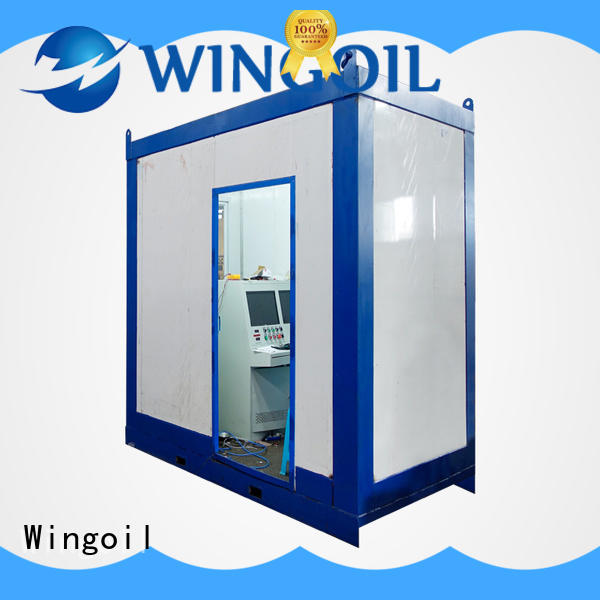 Wingoil cylinder hydro testing With unrivaled expertise For Oil Industry