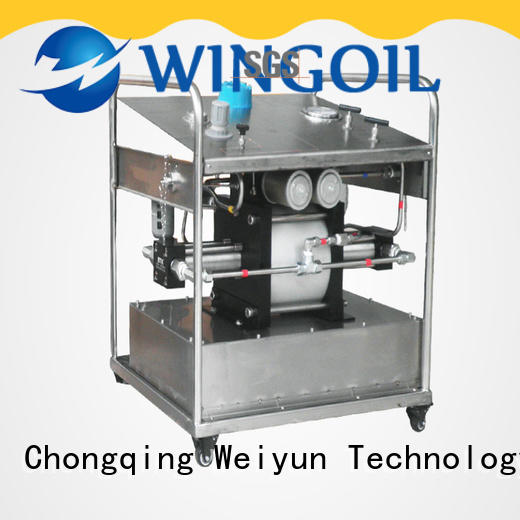 Wingoil pressure testing safety infinitely for onshore