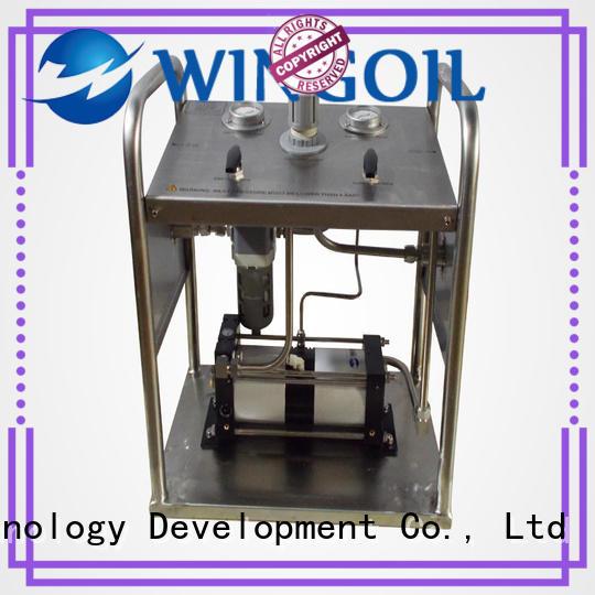 hydrostatic electric hydrostatic test pump in high-pressure For Gas Industry