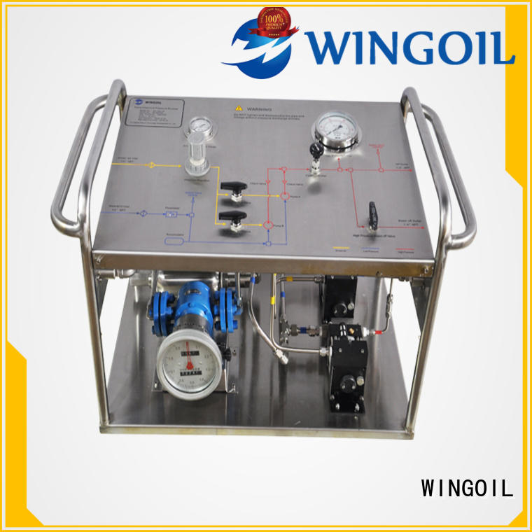 Wingoil Best hydro test pump manufacturers for business For Gas Industry