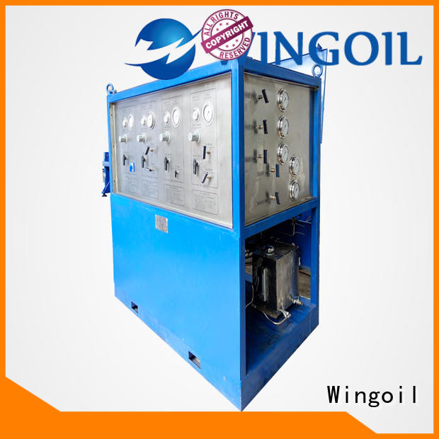 Wingoil hydrostatic test unit Supply for onshore