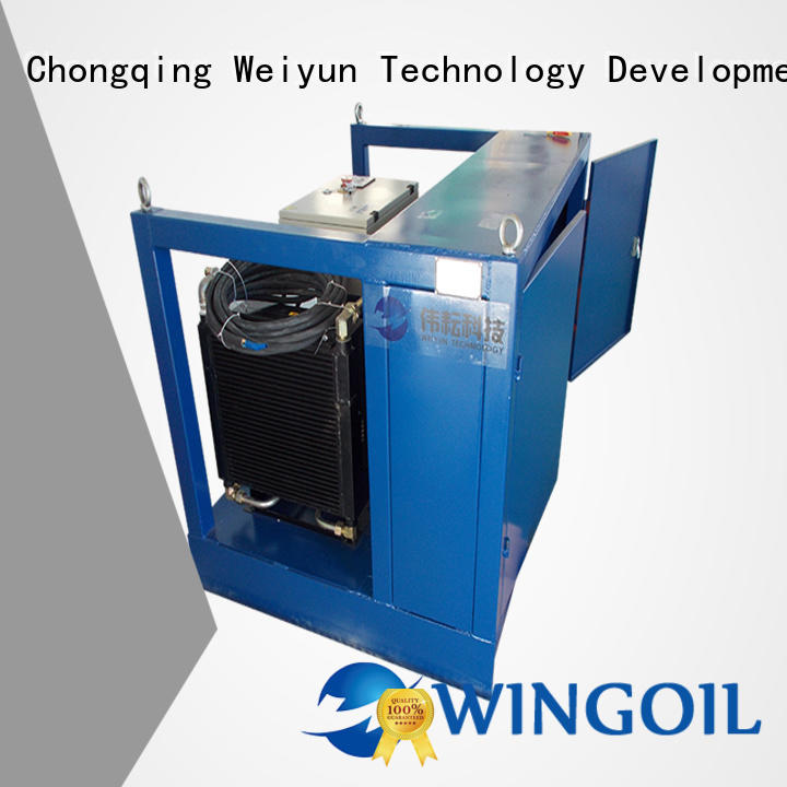 high pressure pneumatic pressure testing equipment widely used for onshore