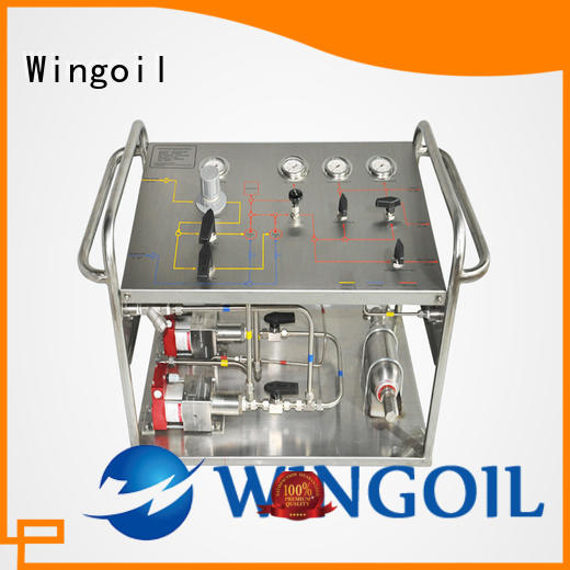 Safety Chemical Injection System in high-pressure for offshore