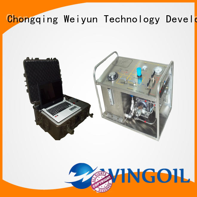 professional portable hydrostatic test pump infinitely For Oil Industry