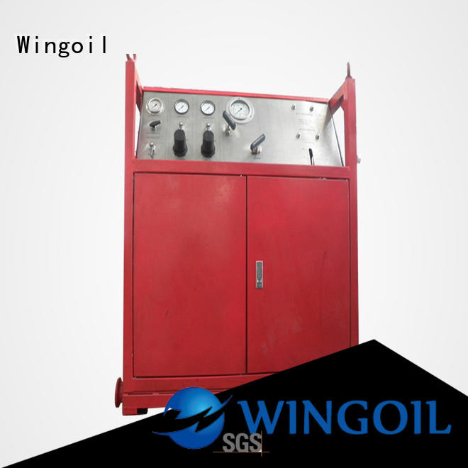 Wingoil Best hydrostatic testing equipment manufacturers for offshore
