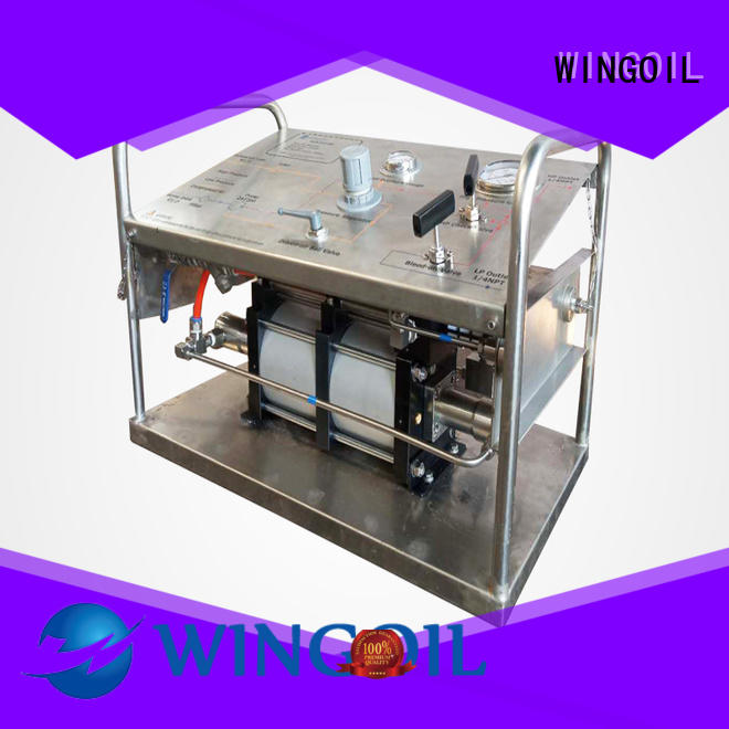Wingoil hydrostatic test pump With unrivaled expertise for onshore