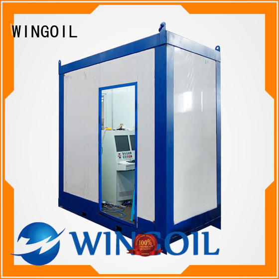 Wingoil high pressure hose testing equipment in high-pressure For Gas Industry
