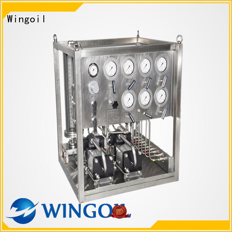 Wingoil New methanol injection skid factory For Oil Industry