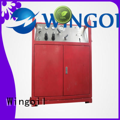Wingoil hydraulic pressure test procedure For Oil Industry