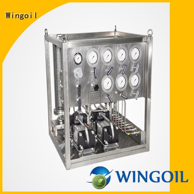 chemical pneumatic metering pump infinitely For Gas Industry