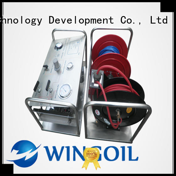 portable hydrostatic test pump With unrivaled expertise For Gas Industry