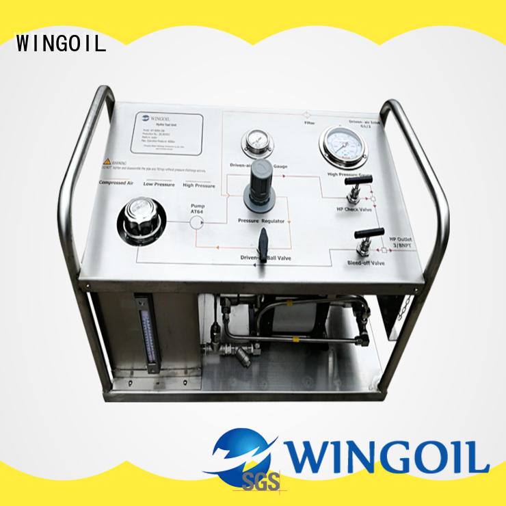 Wingoil hydrostatic pump in high-pressure For Oil Industry