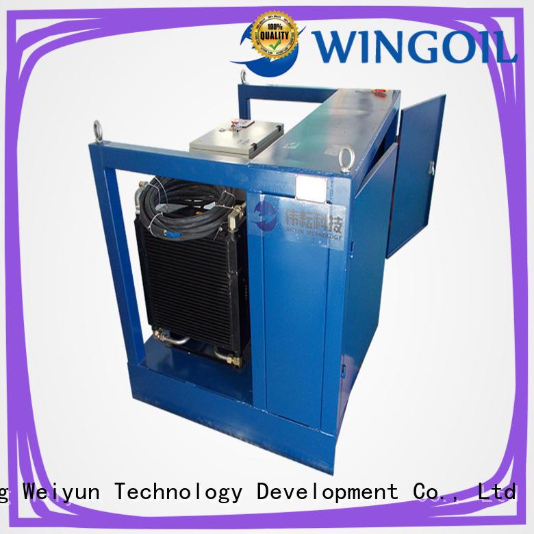 nitrogen pressure testing equipment for onshore