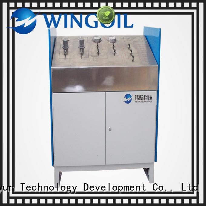 Wingoil popular high pressure hose testing equipment infinitely For Oil Industry