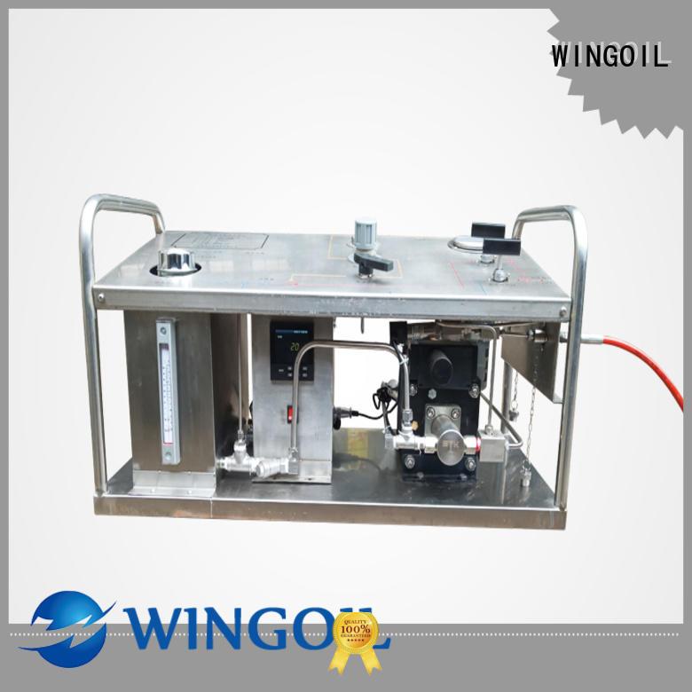 Wingoil hydrostatic pressure pump infinitely for onshore