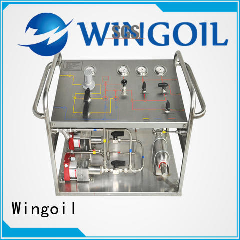 Wingoil Latest flow chemical factory for onshore