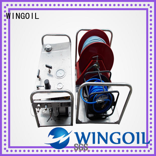 Wingoil Chemical Injection System With unrivaled expertise For Gas Industry