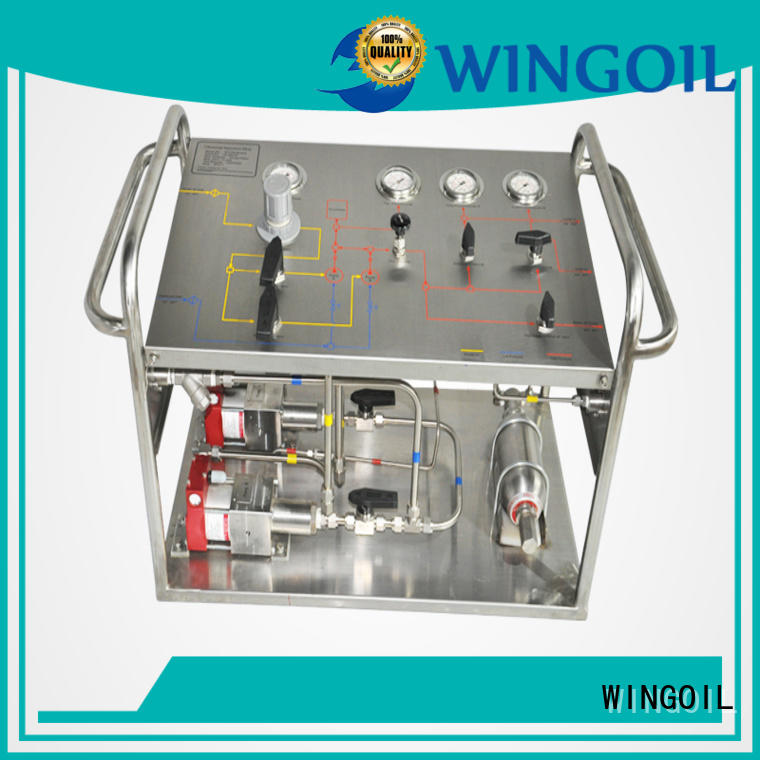 Wingoil Top high pressure testing equipment factory for offshore