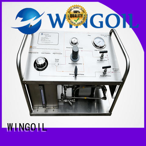 Wingoil hydrostatic rice test pump widely used for onshore