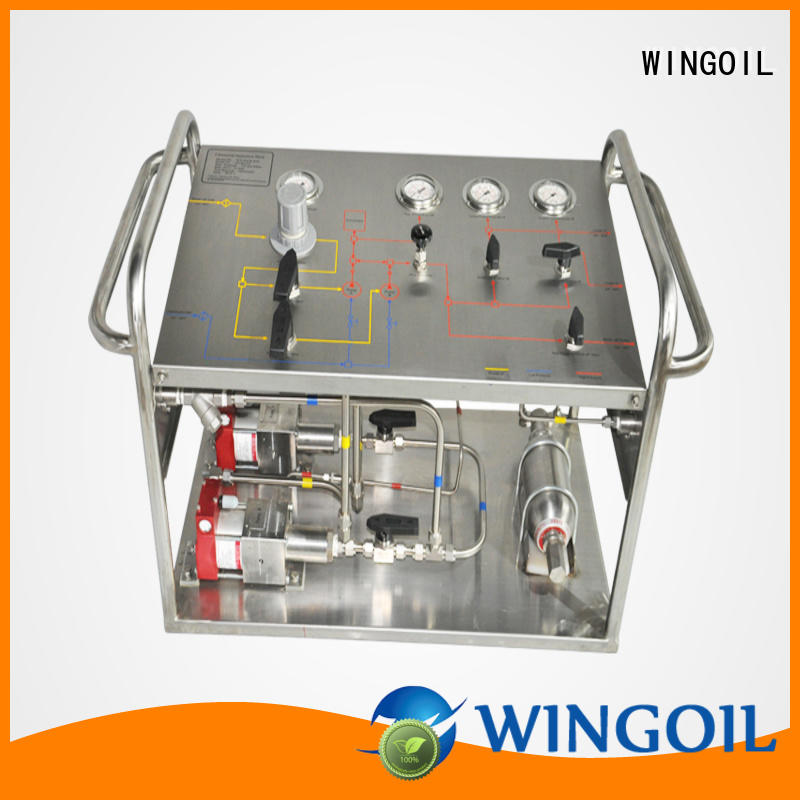 high pressure pressure testing machine in high-pressure For Gas Industry