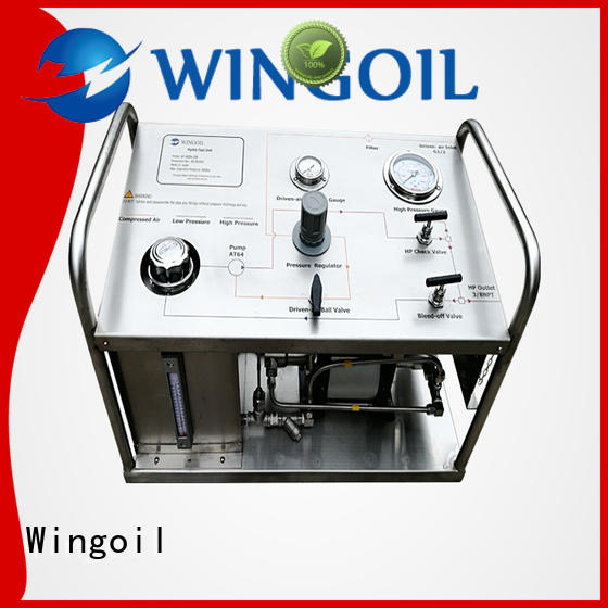 Wingoil hydrostatic pressure pump With unrivaled expertise for offshore