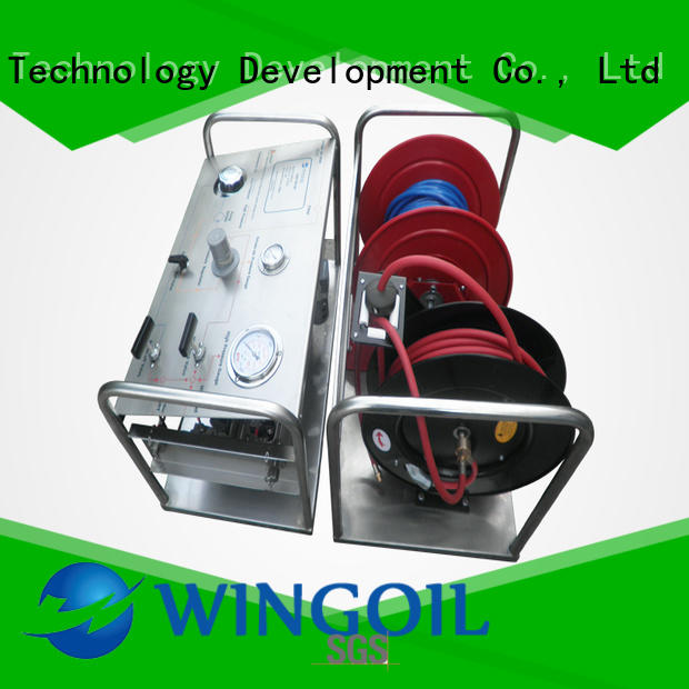 Wingoil hydrostatic hydrostatic pressure test pump With unrivaled expertise for onshore