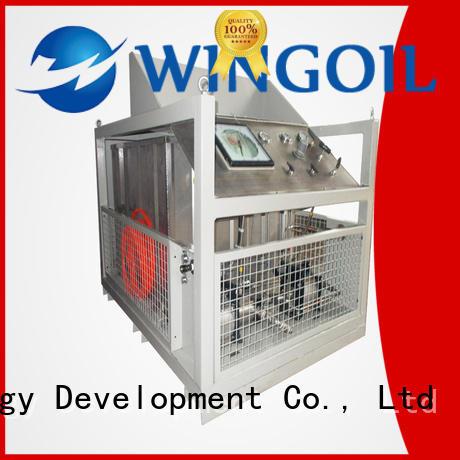 high pressure nitrogen pressure testing equipment for offshore