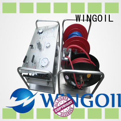 high pressure diesel hydrostatic test pump for offshore