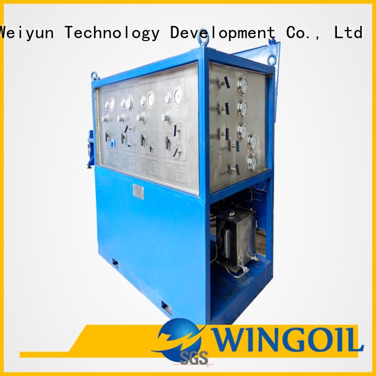 Wingoil Latest hydrostatic leak test procedure infinitely For Oil Industry