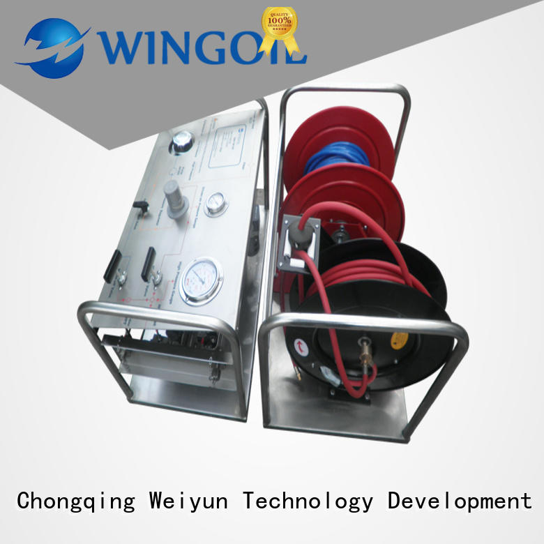 Wingoil tank hydro testing With unrivaled expertise for offshore