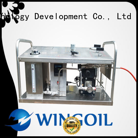 hydrostatic pressure test pump widely used for offshore