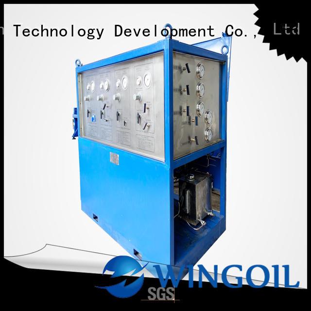 nitrogen pressure testing equipment for offshore