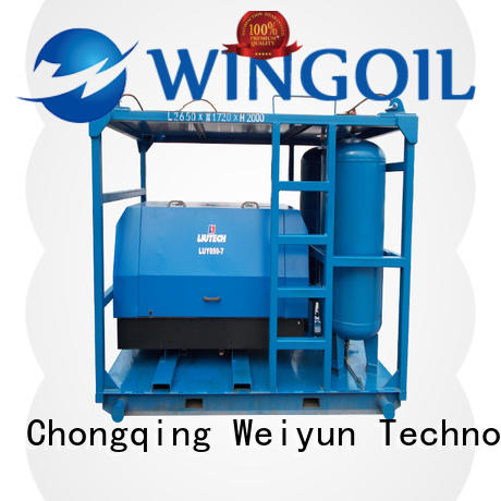 Wingoil Hydro pressure testing pipelines Supply For Oil Industry