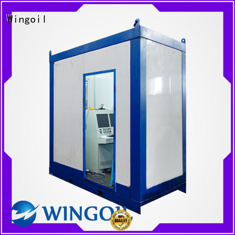 Flow Control pressure test standard infinitely for offshore