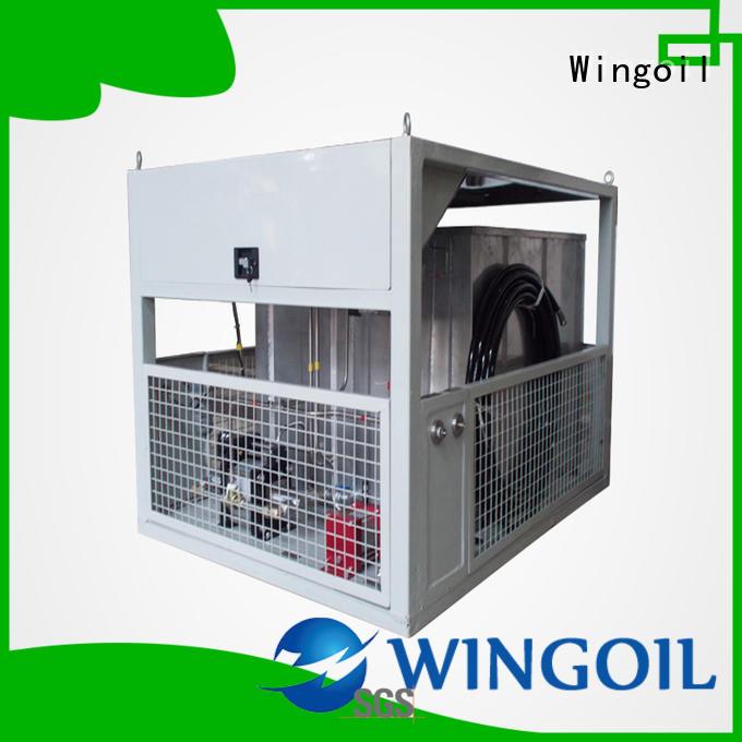 Wingoil air pressure testing equipment for offshore