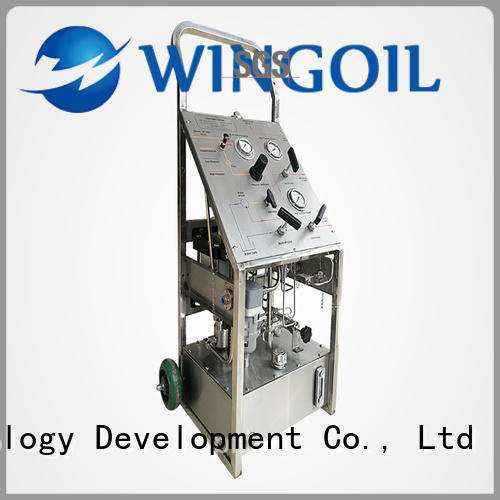 high pressure hydrostatic pressure test pump in high-pressure For Gas Industry