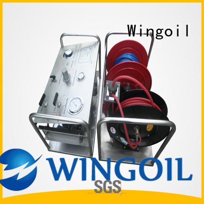 Wingoil electric hydrostatic test pump widely used For Oil Industry