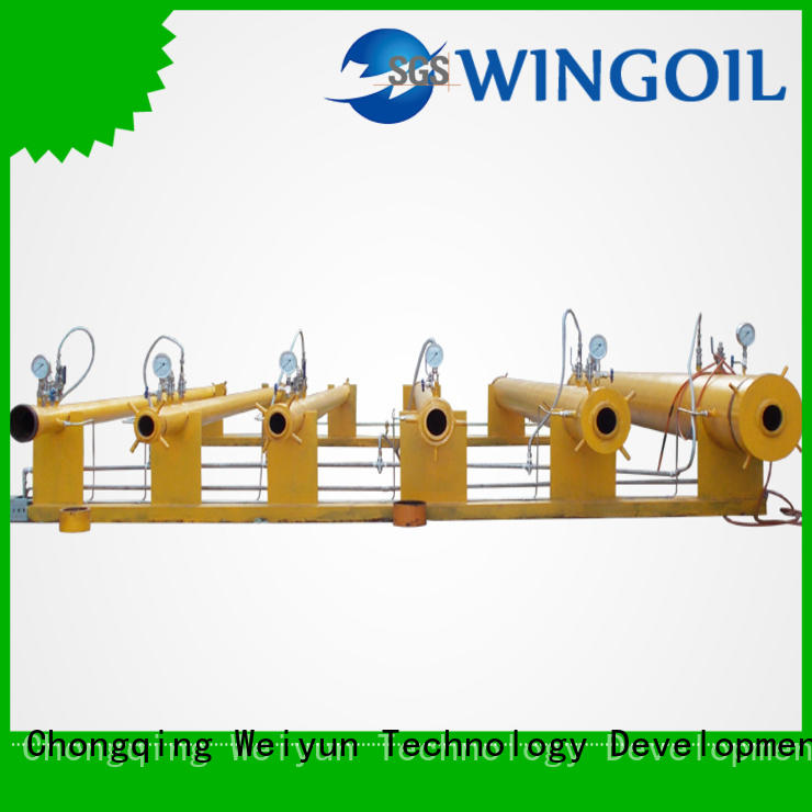 Flow Control high pressure hose testing equipment widely used for onshore