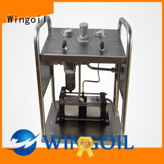 High-quality gas powered hydrostatic test pump Supply for onshore