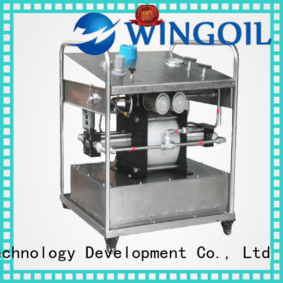 Wingoil pressure testing equipment Suppliers for offshore