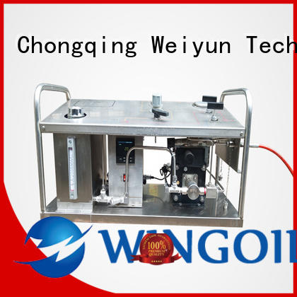 high pressure hydrostatic pressure test pump infinitely For Gas Industry