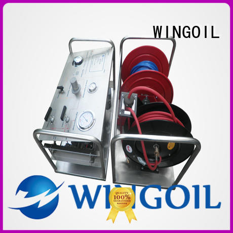 Wingoil Best hydro test pump price factory For Gas Industry