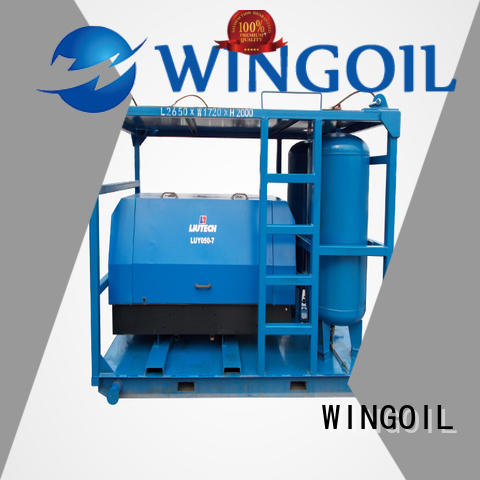 Wingoil pneumatic pressure testing equipment For Gas Industry