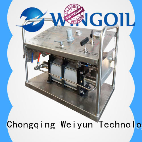 Wingoil Top pressure test standard company for onshore
