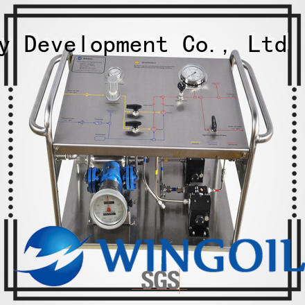 Wingoil popular hand operated test pump manufacturers For Oil Industry