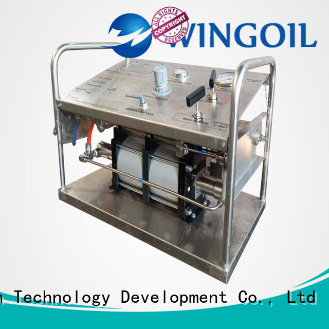 Wingoil New rice hydrostatic pressure test pump widely used For Gas Industry