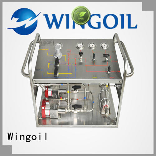 Wingoil chemical feed pump company For Gas Industry